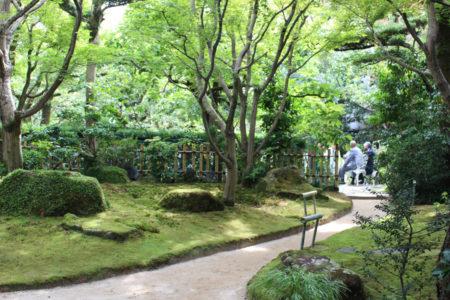 松屋のお庭