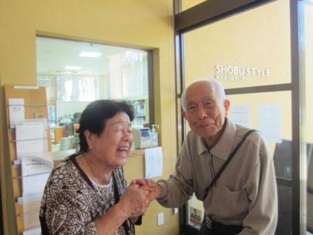 94歳と88歳。実に55年ぶりの再会でした。