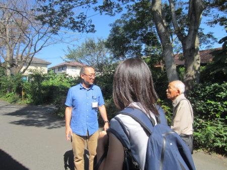 大坪先生もご同行してのしょうぶ学園の訪問となりました。