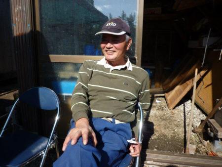 そば打ち名人 浜田福蔵さん(65歳)