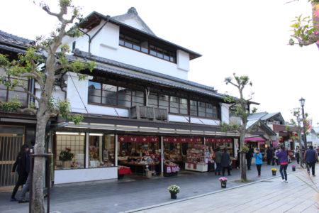 幕末期、幕府に追われている月照上人をかくまった、福岡県太宰府市の松屋。
