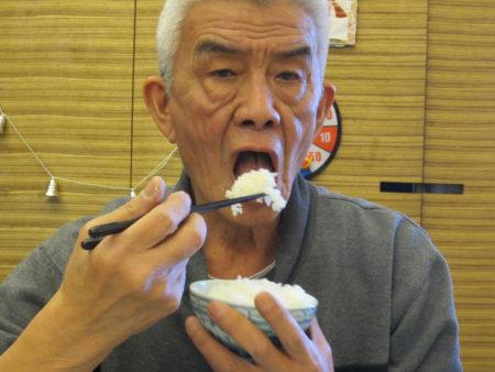 今日も元気!ご飯は大盛り!ただいま75歳。