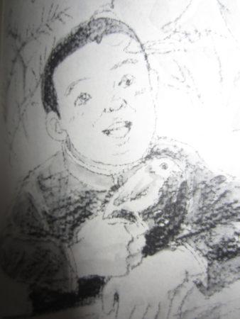 「歩きはじめた小さな天使たち」の挿絵より