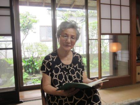 鹿児島市に住む88歳の坪内ノリ子さんのお話