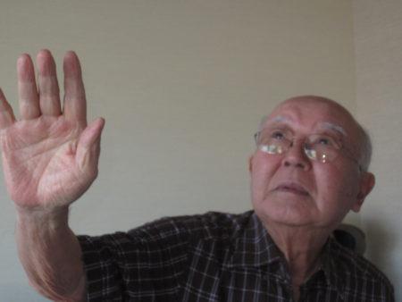奇しくも谷口さんと同じ年で、広島で被爆した田中さんのお話です。