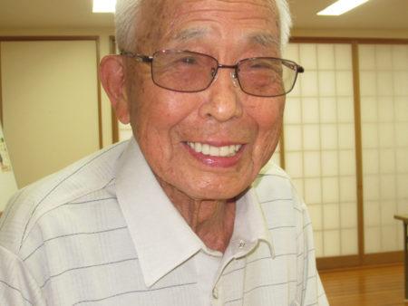 鹿児島市内の老人ホームで暮らしています