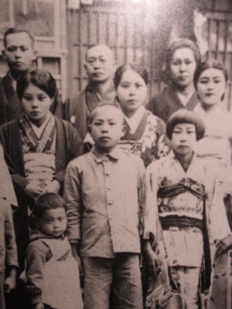 台湾時代の家族写真