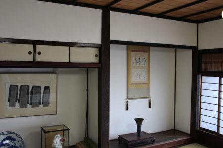 和室の床の間