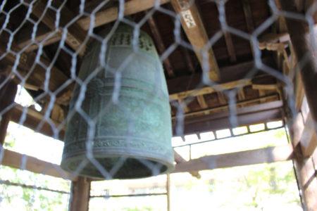 観世音寺で有名なのが、梵鐘です。 「国宝」となっています。