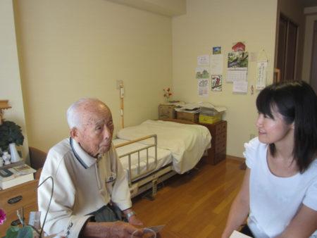 大坪先生のお部屋で会いました