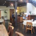 園内のカフェレストラン