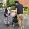 今回、工房しょうぶを 学園の創設者・福森悦子先生がすみずみまで案内して下さいました。