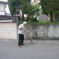 朝活の道々、お掃除もします!