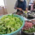 食材の多くが、この活動に賛同して下さった企業や個人から提供されたもの。