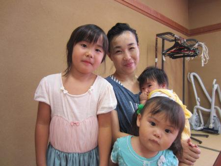 園田さんは小学校の先生。現在育児休業中。