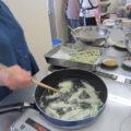 サツマイモとオクラは天ぷらに