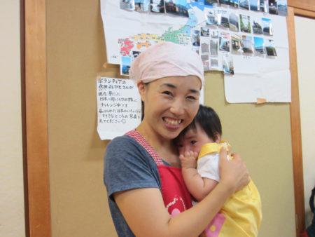 子ども食堂の立ち上げスタッフ園田愛美さん。
