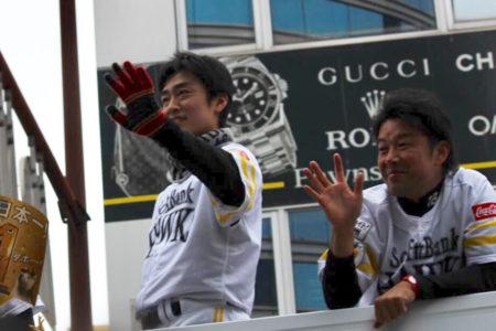 ソフトバンクスホークスのレジェンド 和田毅選手!