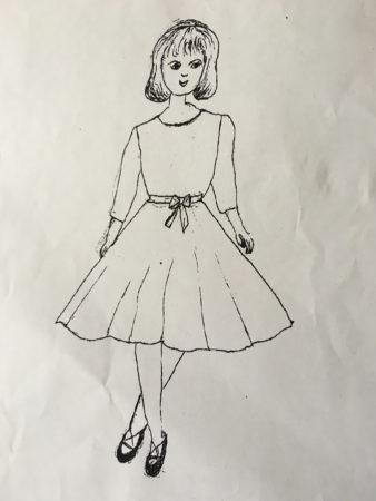 可愛らしく描かれていて、この絵を見ているだけでも、きちんと作ろうとする母の気持ちが伝わってきました。