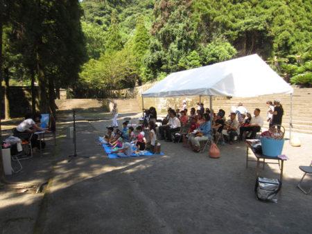 福昌寺跡で歴史のお話し会を開催