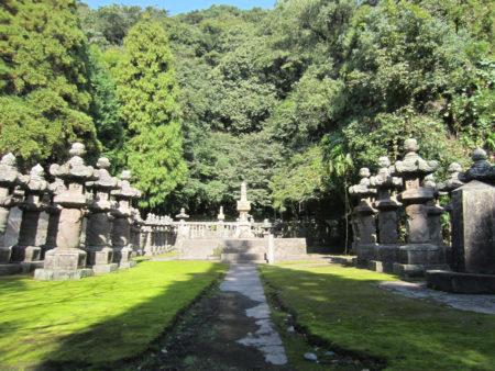 数々の歴史のドラマを今に伝える福昌寺跡。