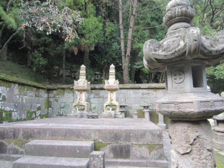 薩摩藩第11代藩主 島津家28代当主  斉彬公の墓