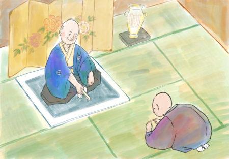 紙芝居「調所広郷物語」より© saki fuchigami