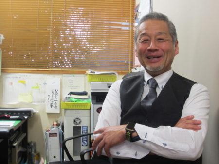 安藤正和さん(今は車と保険に関するお仕事をしています)