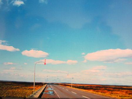 8月25日に出発。沖縄から北海道まで15000キロを走った