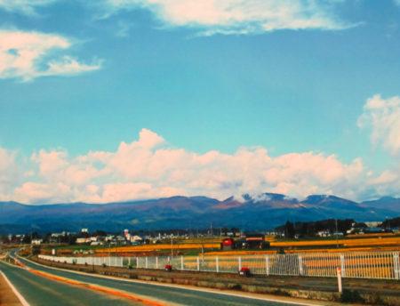 秋田に入った途端、違う空気を感じた…