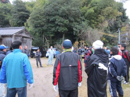 毎年恒例、坂元小学校、坂元台小学校、坂元中学校合同の門松づくり、今年も始まります