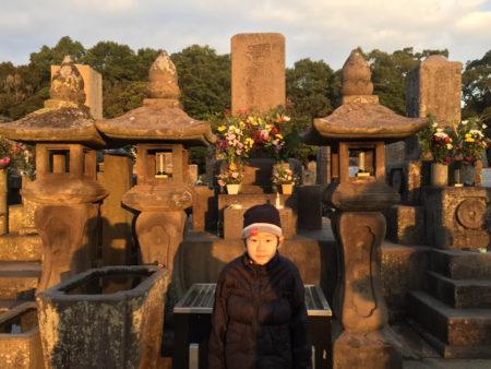 家族で西郷どんのお墓にお参りしました!
