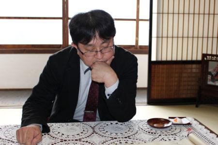 おそらく薩摩藩士、小松帯刀(たてわき)だと思います。