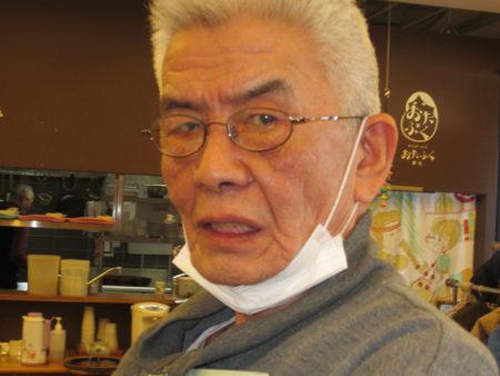 新名正興さん、75歳