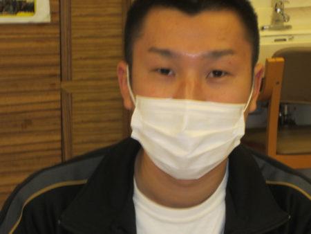 若手職員の西村和馬さん(26)