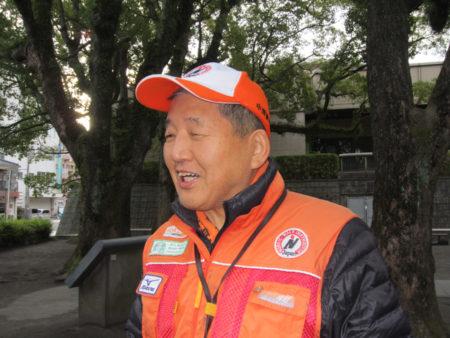 ウォーキングライフマイスターの中澤誠吉さん