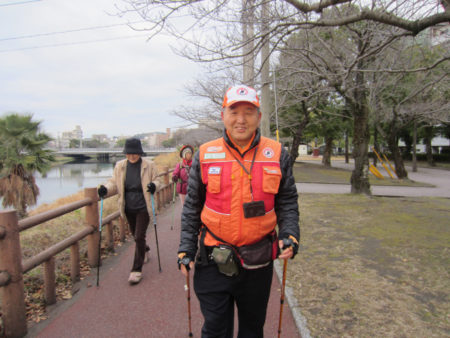 ノルディック・ウォークの推進者のひとり 中澤誠吉さん