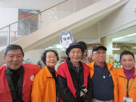 日置市観光ガイド協会のみなさんこれからもバリアフリー旅、お手伝いします!