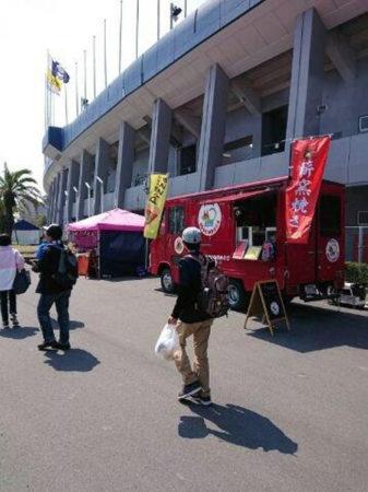 鹿児島ユナイテッドFCの試合会場でも販売