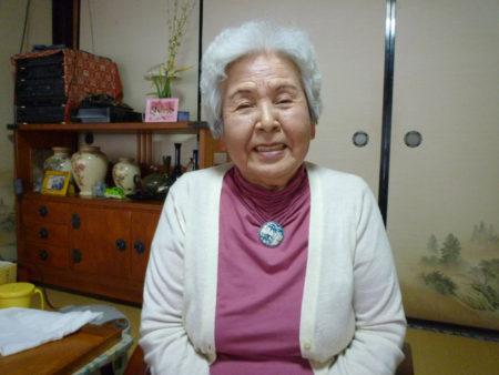 石川常子さん(88)