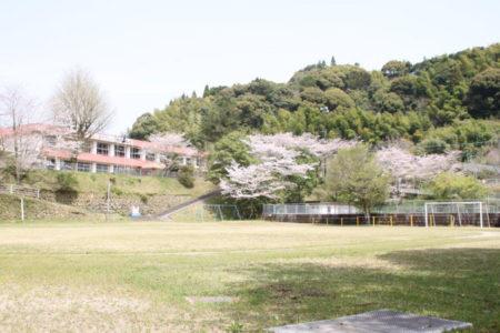 創立138年 薩摩川内市入来町浦之名 大馬越小学校