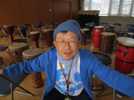 森田孝一郎さん ドラムサークルとの出会い、衝撃でした!