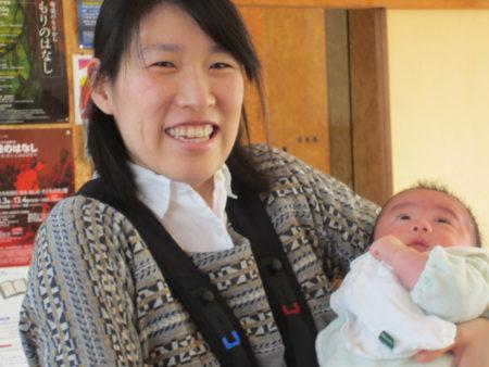 久保有紀子さん。仕事は特別支援学級の先生です