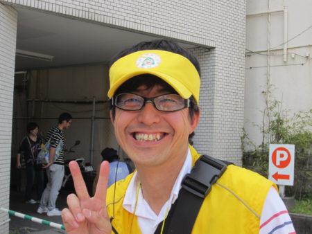 認知症SOS模擬訓練を企画した 「みま~も・かごしま」事務局長 水口義夫さん