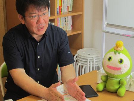 「みま~も」発起人 澤登久雄さん(社会福祉士)
