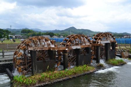 朝倉市 三連水車 6月17日稼働開始予定