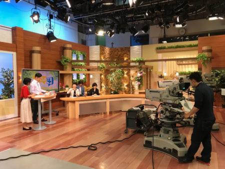 MBCテレビの生放送「かごしま4」に、てのんのメンバー3人が活動をご紹介