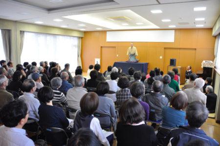 「百人で聴く落語会」は今月20日に開催されます!