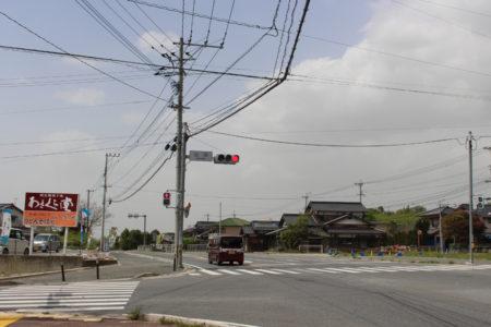 現在の山田交差点