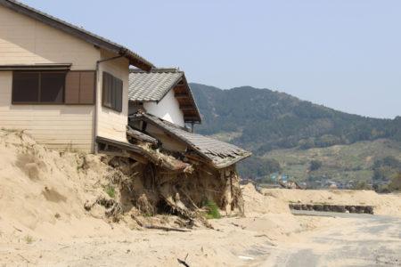 朝倉市内には、このような光景も残っている